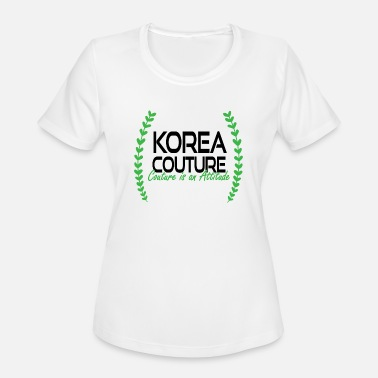Couture Korea Couture - Couture is an Attitude - Women's Sport T-Shirt