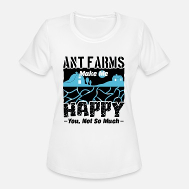 Ant Farm Ant Farm Make Me Happy Shirt - Women's Sport T-Shirt