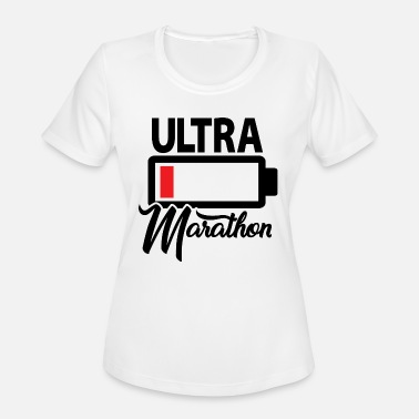 Ultramarathon Ultramarathon Runner - Premium Design - Women's Moisture Wicking Performance T-Shirt