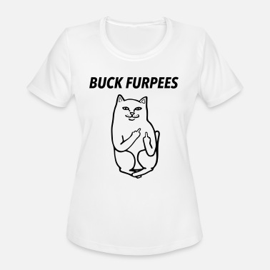 Buck Furpees Buck Furpees (Black) - Women's Moisture Wicking Performance T-Shirt