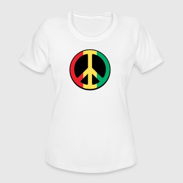 Rasta Peace Rasta Peace T Shirt - Women's Moisture Wicking Performance T-Shirt
