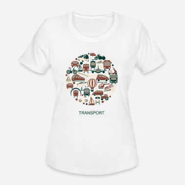 Transporter transport - Women's Sport T-Shirt