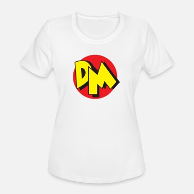 80s Cartoon Danger Mouse 80 S - Women's Moisture Wicking Performance T-Shirt