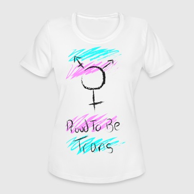 Trans Pride Trans Pride - Women's Moisture Wicking Performance T-Shirt