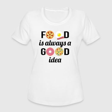 The Food Lover - Women's Moisture Wicking Performance T-Shirt