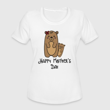 Happy Mothers Day Mother Day Mothers Happy - Women's Moisture Wicking Performance T-Shirt