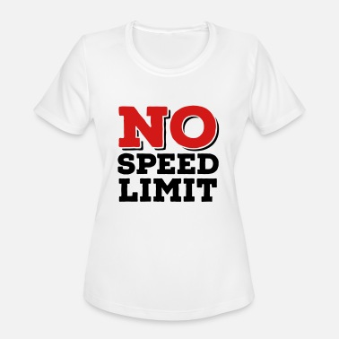 Speed Metal speed - Women's Moisture Wicking Performance T-Shirt