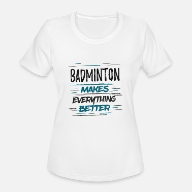 Keep Calm I/'m A Badminton Player Womens T Shirt Funny Humour Gift Birthday