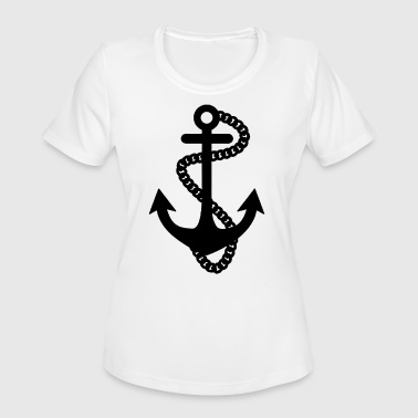 Sailor Anchor ANCHOR SAILOR - Women's Moisture Wicking Performance T-Shirt