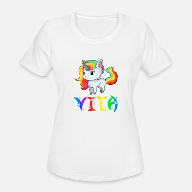 Vitas Vita Unicorn - Women's Moisture Wicking Performance T-Shirt