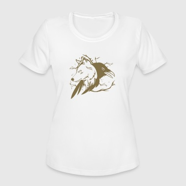 Raven Wolf Wolf Raven - Women's Moisture Wicking Performance T-Shirt