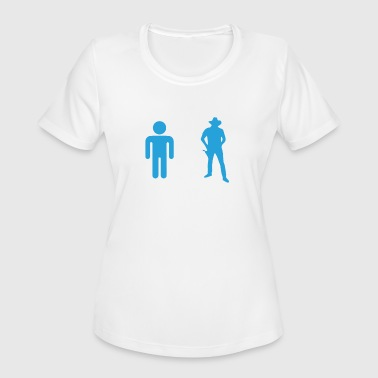 Your Nephew My Nephew Cowboy - Women's Moisture Wicking Performance T-Shirt