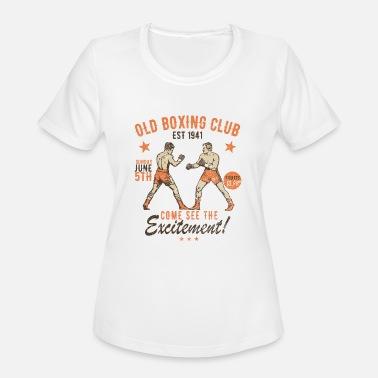 Boxing Club Old Boxing Club - Women's Moisture Wicking Performance T-Shirt