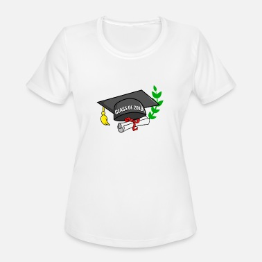 Graduate Class Of 2018 Preschool Graduate - class of 2018 - Women's Moisture Wicking Performance T-Shirt