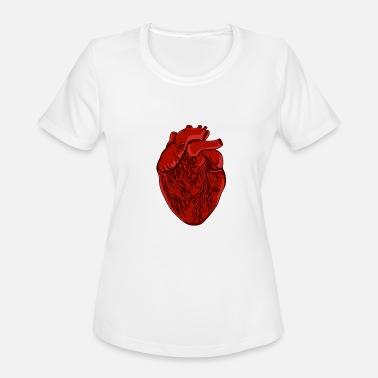 Heart Palpitations heart heart palpitations doctor nurse gift - Women's Sport T-Shirt