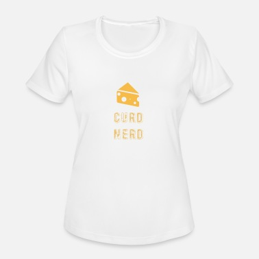 Cheese Curds Curd Nerd Cheese Lover product - Women's Sport T-Shirt