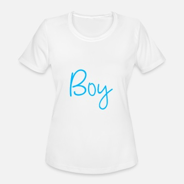 Babyparty Team Boy Pregnancy perfect gift idea - Women's Sport T-Shirt