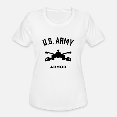 Us Army Europe US Army Armor - Women's Sport T-Shirt