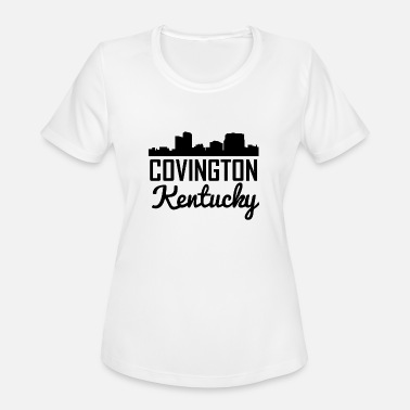 Covington Covington Kentucky Skyline - Women's Moisture Wicking Performance T-Shirt