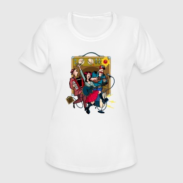 music band - Women's Moisture Wicking Performance T-Shirt