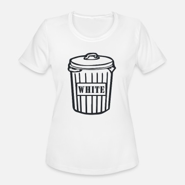White Trash Funny White Trash - Women's Moisture Wicking Performance T-Shirt