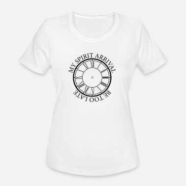 Truant Too late funny student T-shirt - Women's Sport T-Shirt