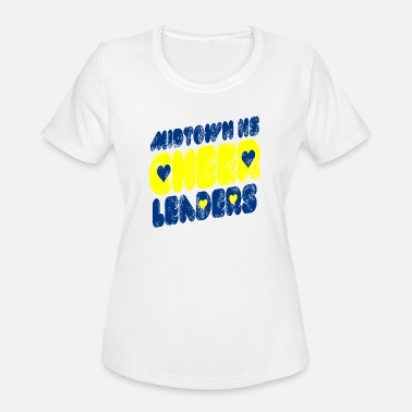Band Leader Midtown HS Cheer Leaders - Women's Moisture Wicking Performance T-Shirt