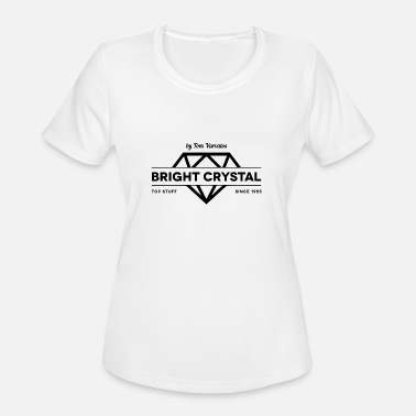 Tomine Top Stuff Bright Crystal by Tom Varvalos - Women's Sport T-Shirt