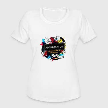 Adjudicator ADJUDICATOR - Women's Moisture Wicking Performance T-Shirt
