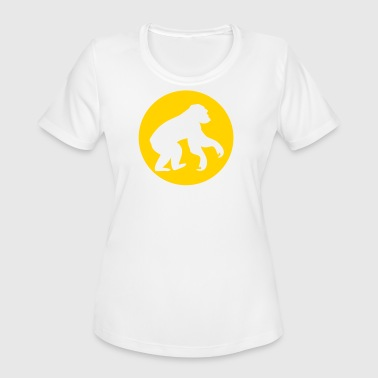 Monkey - Chimpanzee - Women's Moisture Wicking Performance T-Shirt