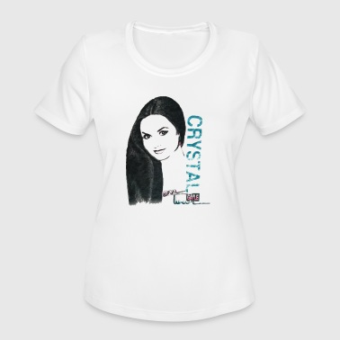 Crystal Gayle - Hall of FAME - Women's Moisture Wicking Performance T-Shirt