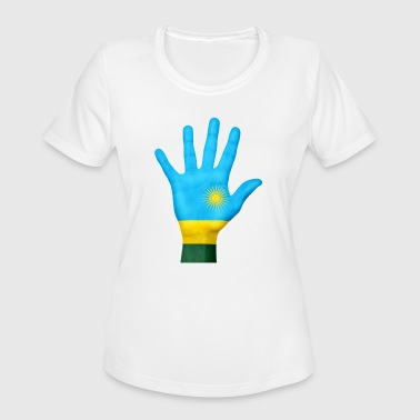 rwanda - Women's Moisture Wicking Performance T-Shirt