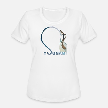 Tsunami Tsunami surf - Women's Moisture Wicking Performance T-Shirt