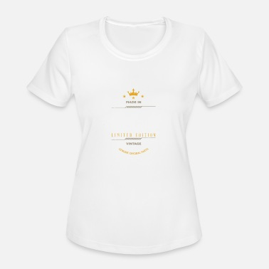 1995 Limited Edition Made In 1995 Limited Edition Vintage - Women's Moisture Wicking Performance T-Shirt