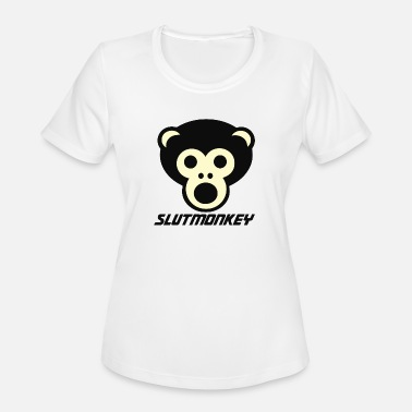 Slut Animal Slut Monkey - Women's Moisture Wicking Performance T-Shirt