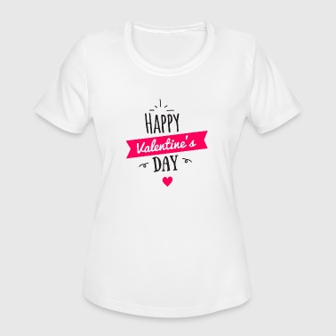 Valentine's Day - Women's Moisture Wicking Performance T-Shirt