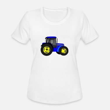 Tractor Kid tractor kids children gift idea - Women's Moisture Wicking Performance T-Shirt