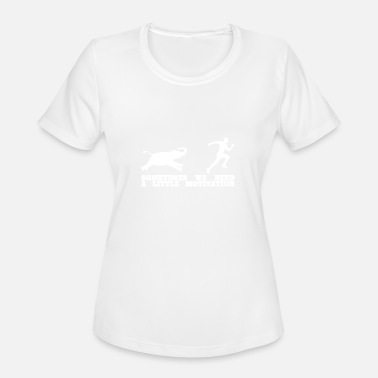 Elephant House Elephant Running - Women's Moisture Wicking Performance T-Shirt