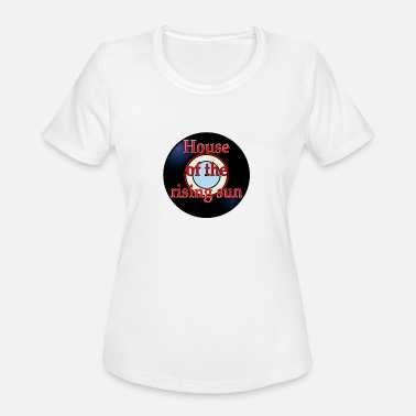 Song Title Oldies Hit Song Titles House of the Rising Sun - Women's Moisture Wicking Performance T-Shirt
