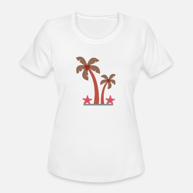 Palm Trees Palm trees - Women's Moisture Wicking Performance T-Shirt