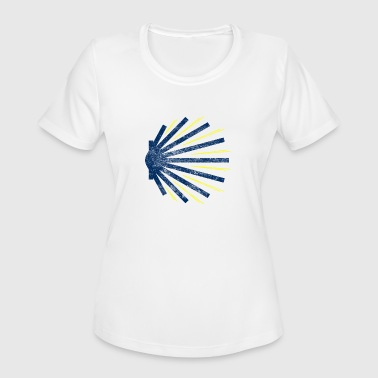 Santiago Camino de Santiago t-shirt - Women's Moisture Wicking Performance T-Shirt