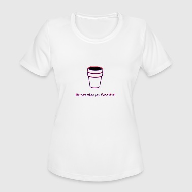It's not Lean, I swear - Women's Moisture Wicking Performance T-Shirt