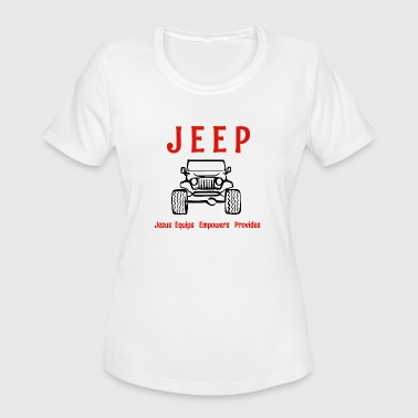 Jeep is - Women's Moisture Wicking Performance T-Shirt