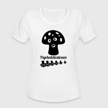 psychedelicatessen blak - Women's Moisture Wicking Performance T-Shirt