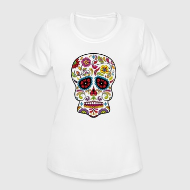 sugar skull - Women's Moisture Wicking Performance T-Shirt
