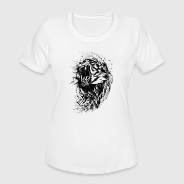 Wild Tiger - Women's Moisture Wicking Performance T-Shirt