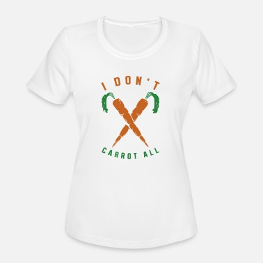 Rabbit With Carrot Carrot Rabbit - Women's Moisture Wicking Performance T-Shirt