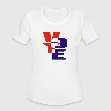 vote - Women's Moisture Wicking Performance T-Shirt