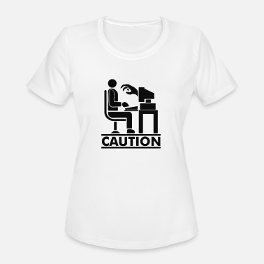 Caution Caution - Women's Sport T-Shirt