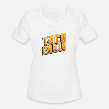 Taco Party Taco Party - Women's Moisture Wicking Performance T-Shirt